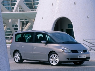 renault grand espace 4 2 2 dci 150 hp. Black Bedroom Furniture Sets. Home Design Ideas