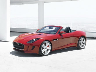 Снимки на Jaguar F-type Roadster