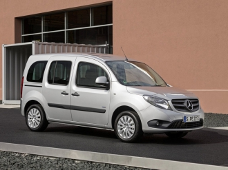 Снимки на Mercedes-benz Citan