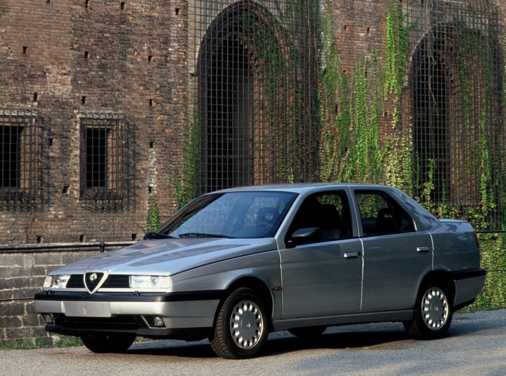 Снимки: Alfa romeo 155 (167)