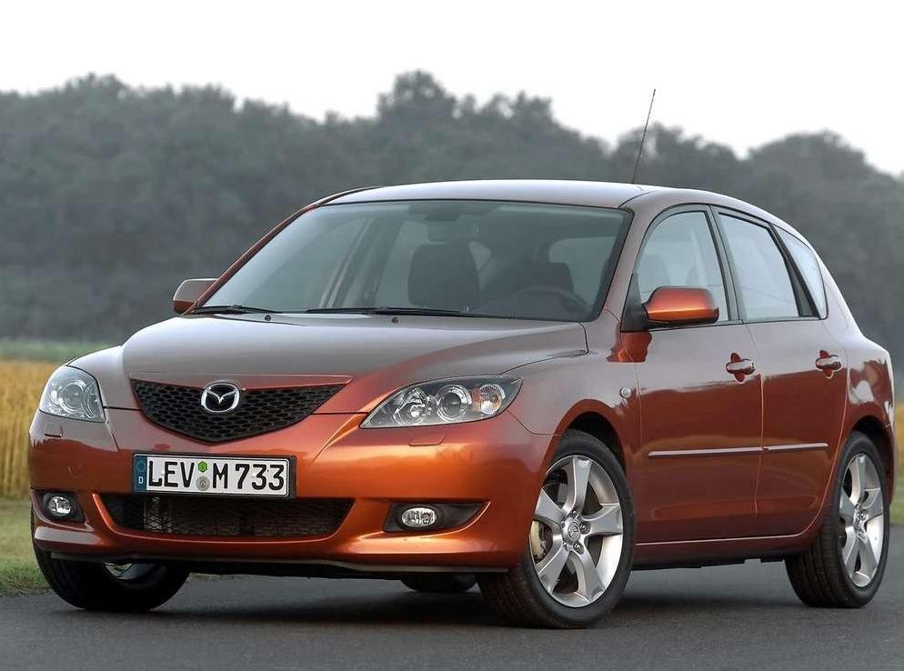 Снимки: Mazda Mazda 3 - 2003