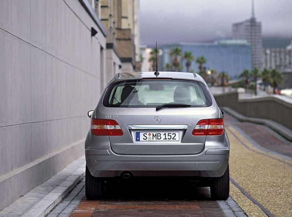 Снимки: Mercedes-benz B-klasse (W245)