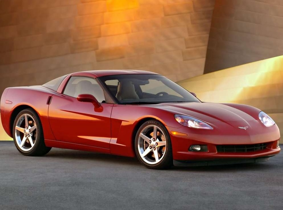 Снимки: Chevrolet Corvette Coupe (C6)