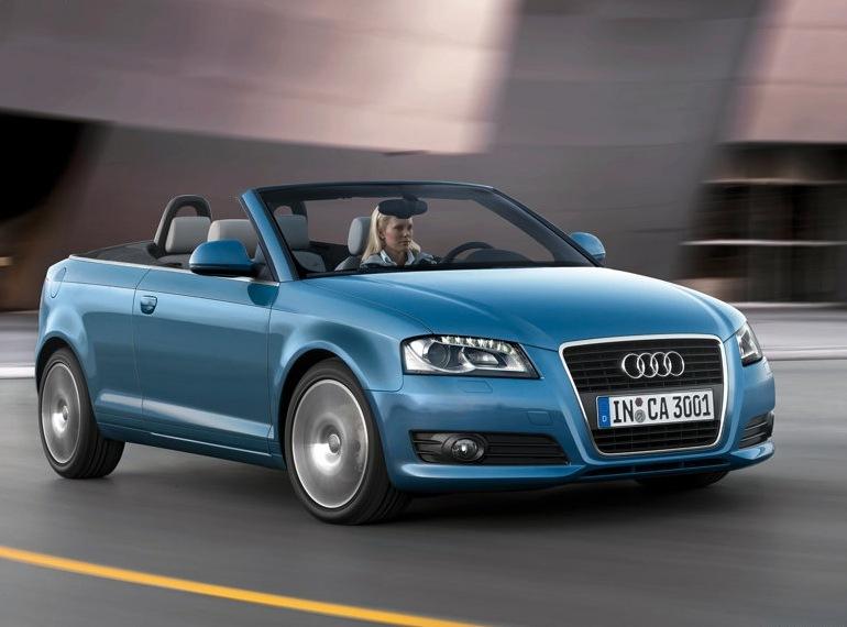 Снимки: Audi A3 Cabriolet