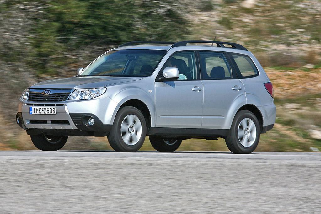 Снимки: Subaru Forester III