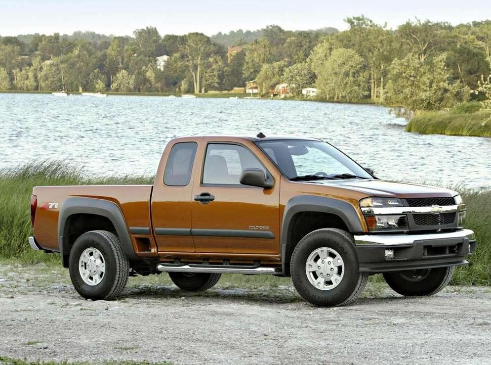 Снимки: Chevrolet Colorado