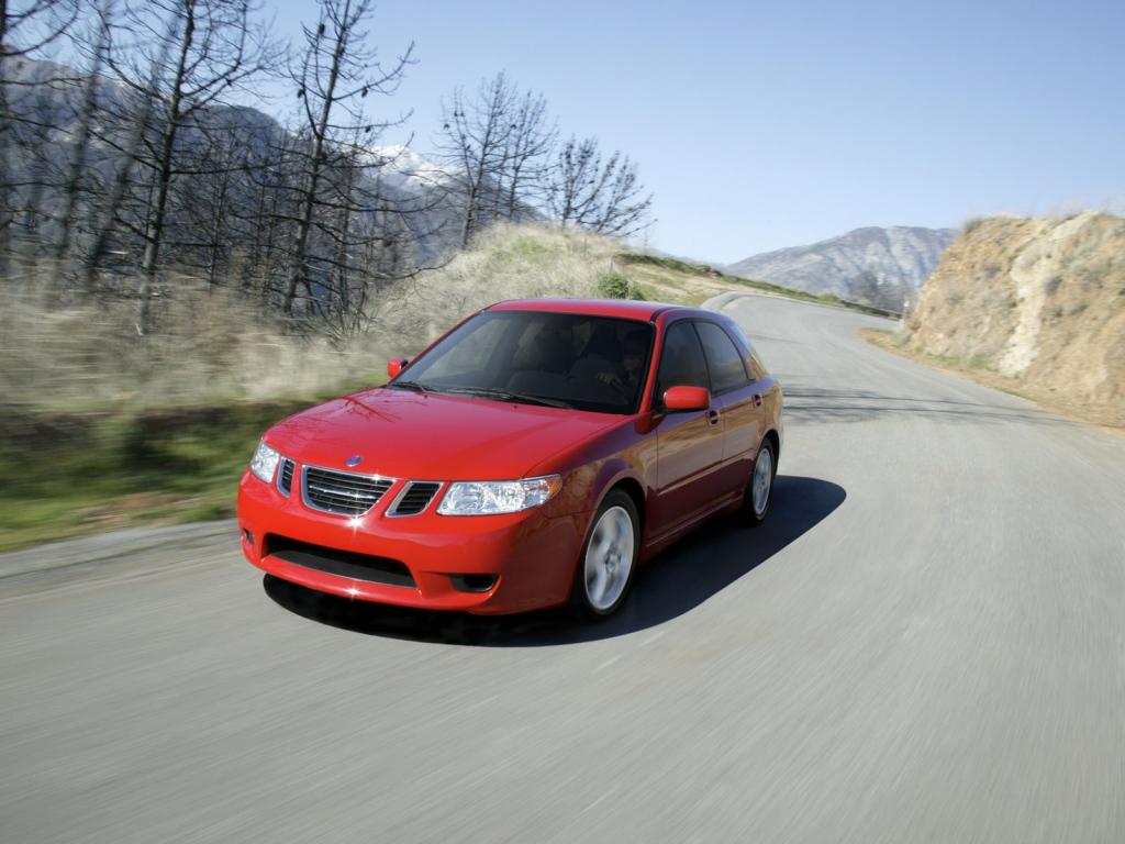Снимки: Saab 9-2X