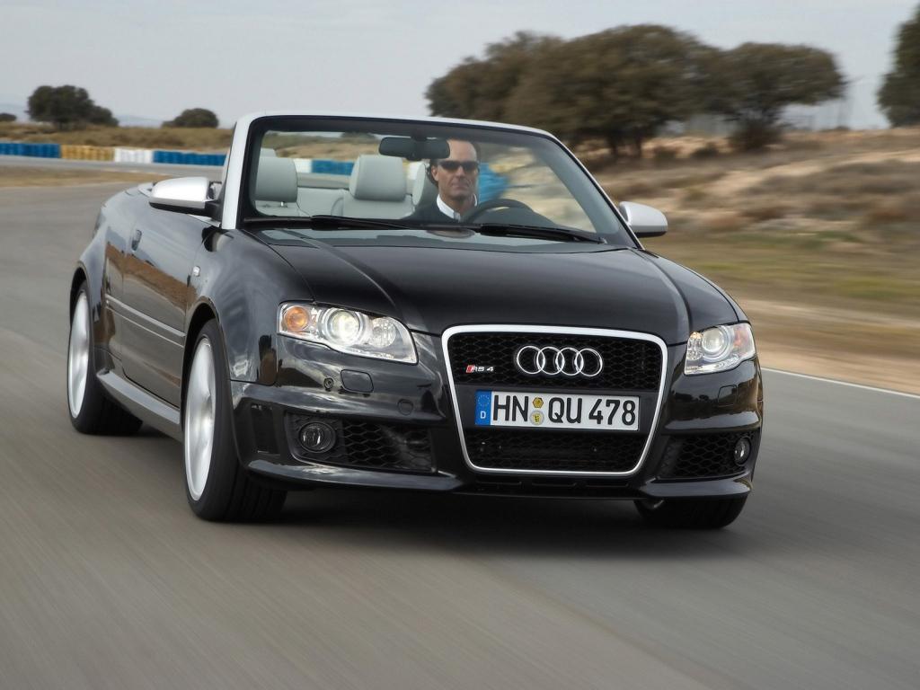 Снимки: Audi RS4 Cabrio (8E)