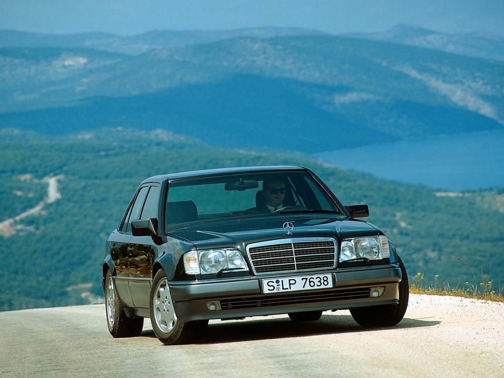 Снимки: Mercedes-benz E-klasse (W124)