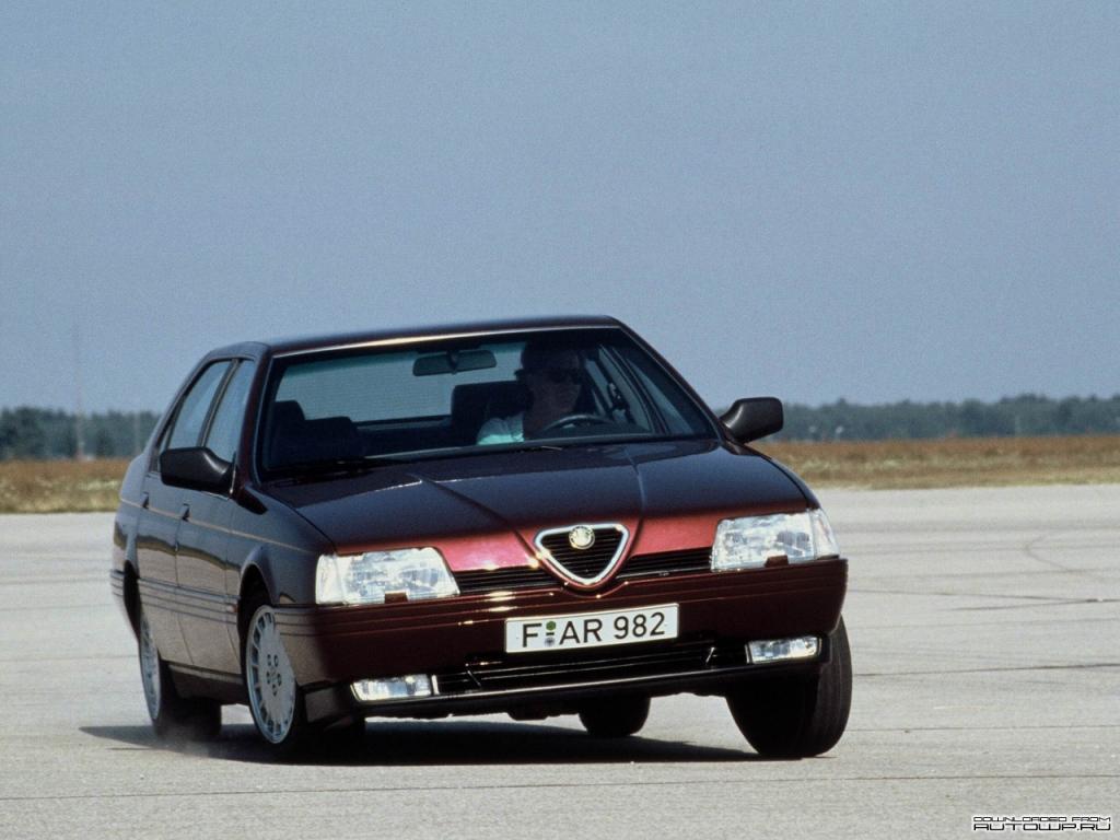 Снимки: Alfa romeo 164 (164)