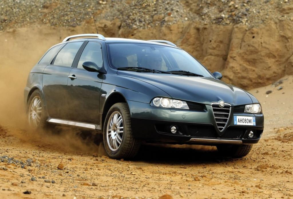 Снимки: Alfa romeo 156 Crosswagon