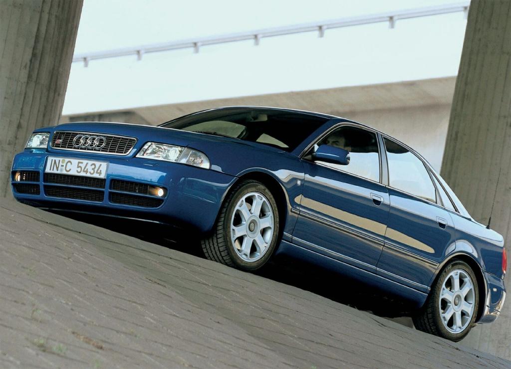 Снимки: Audi S4 (8D,B5)