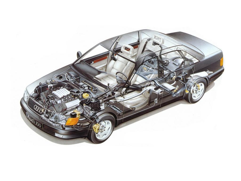 Снимки: Audi 100 (44,44Q)