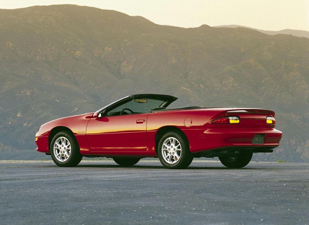 Снимки: Chevrolet Camaro Convertible 3