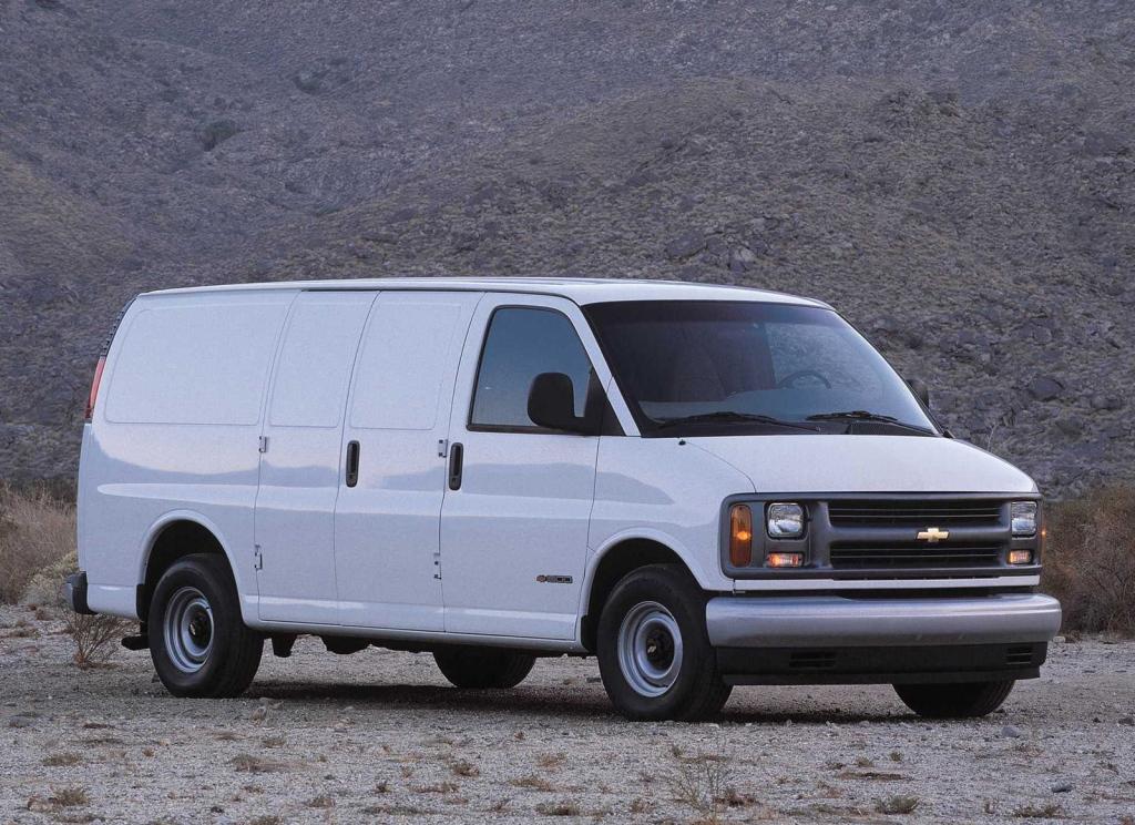 Снимки: Chevrolet Express