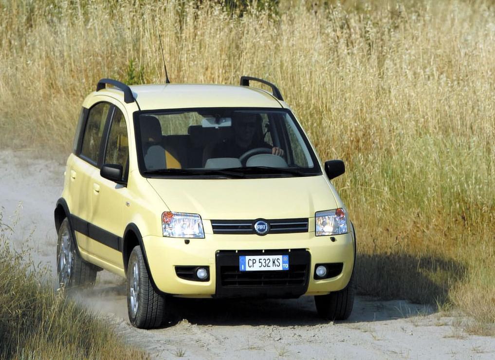 Снимки: Fiat Panda II (169)