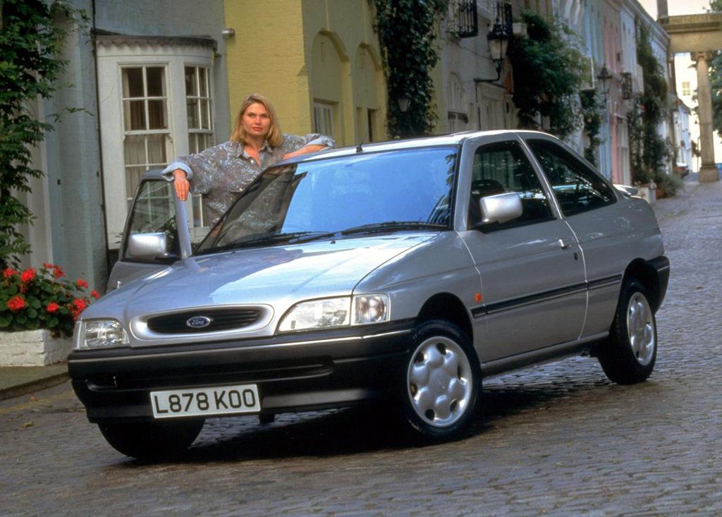 Снимки: Ford Escort VI (GAL)