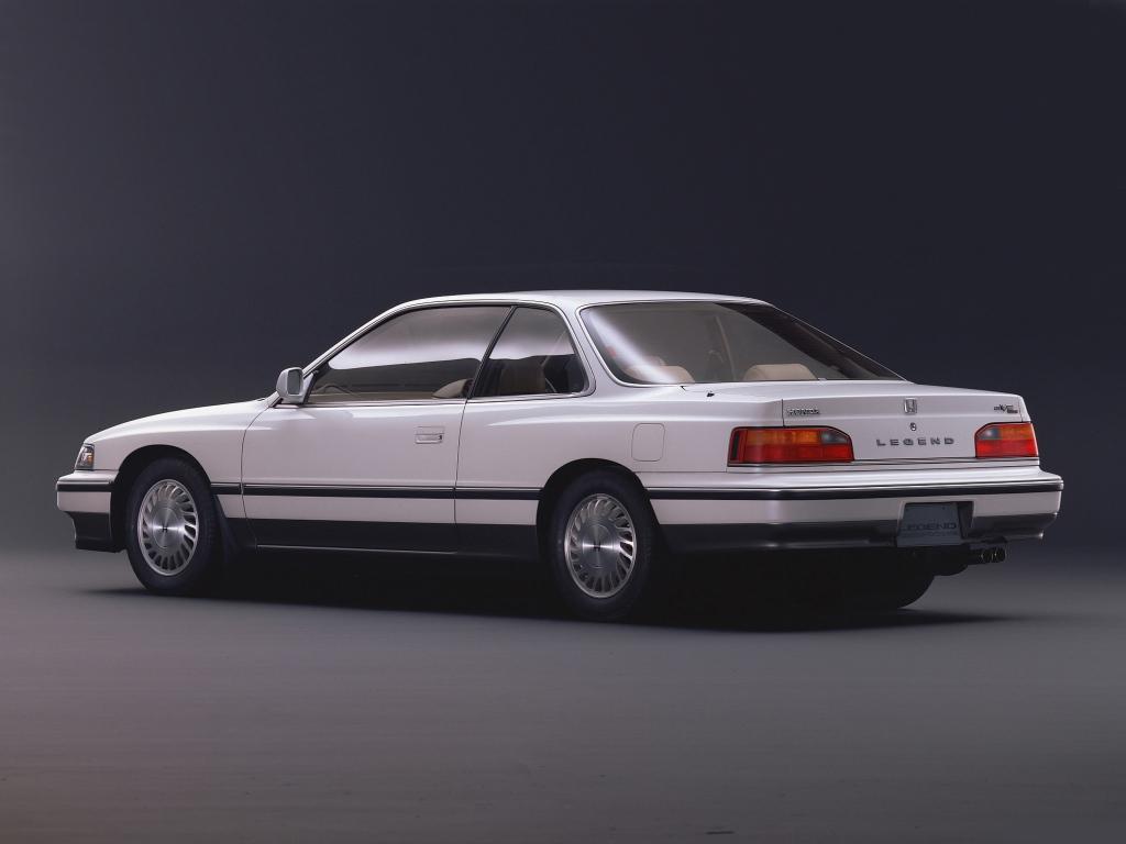 Снимки: Honda Legend I Coupe (KA3)