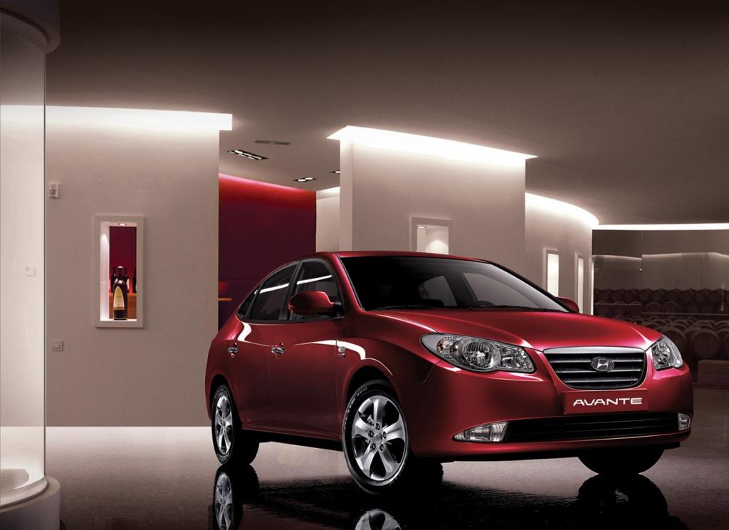 Снимки: Hyundai Avante