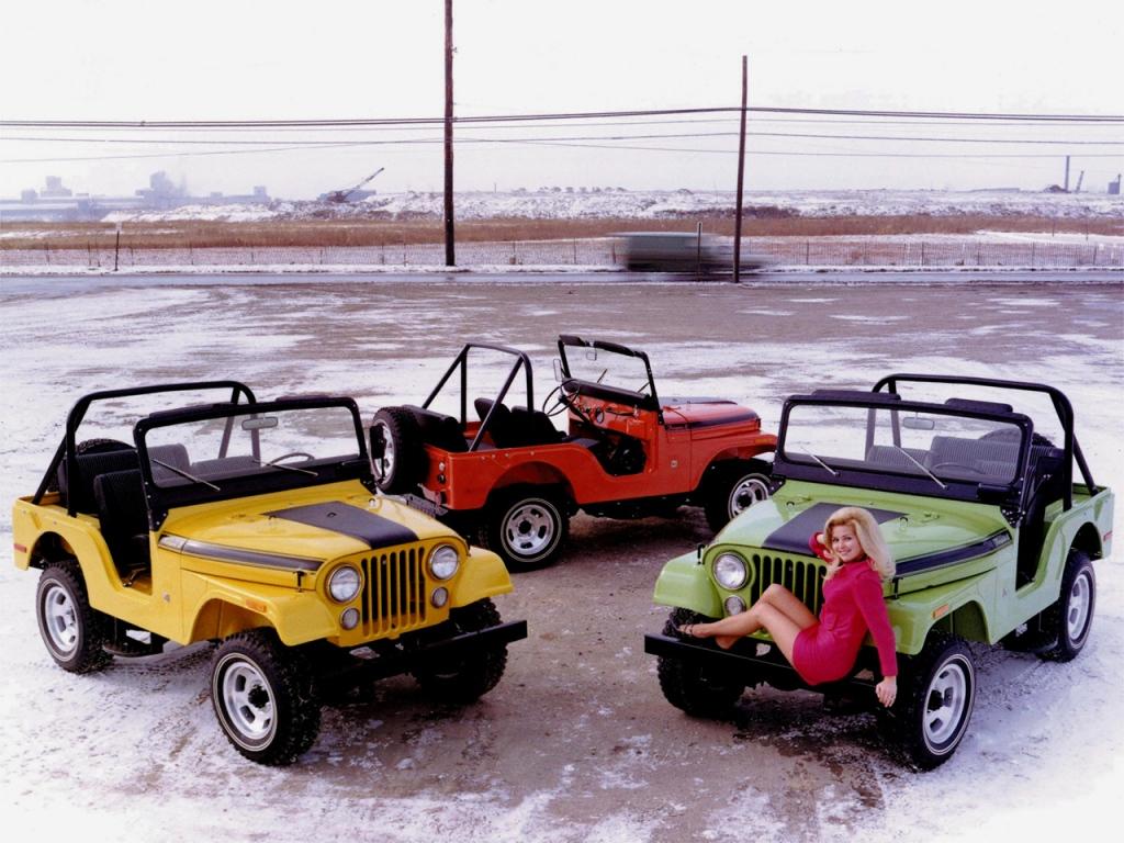 Снимки: Jeep CJ5 - CJ8