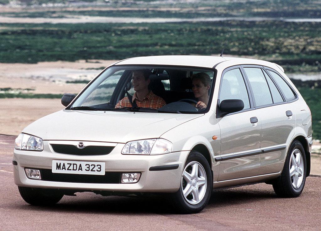 Снимки: Mazda 323 P VI (BJ)