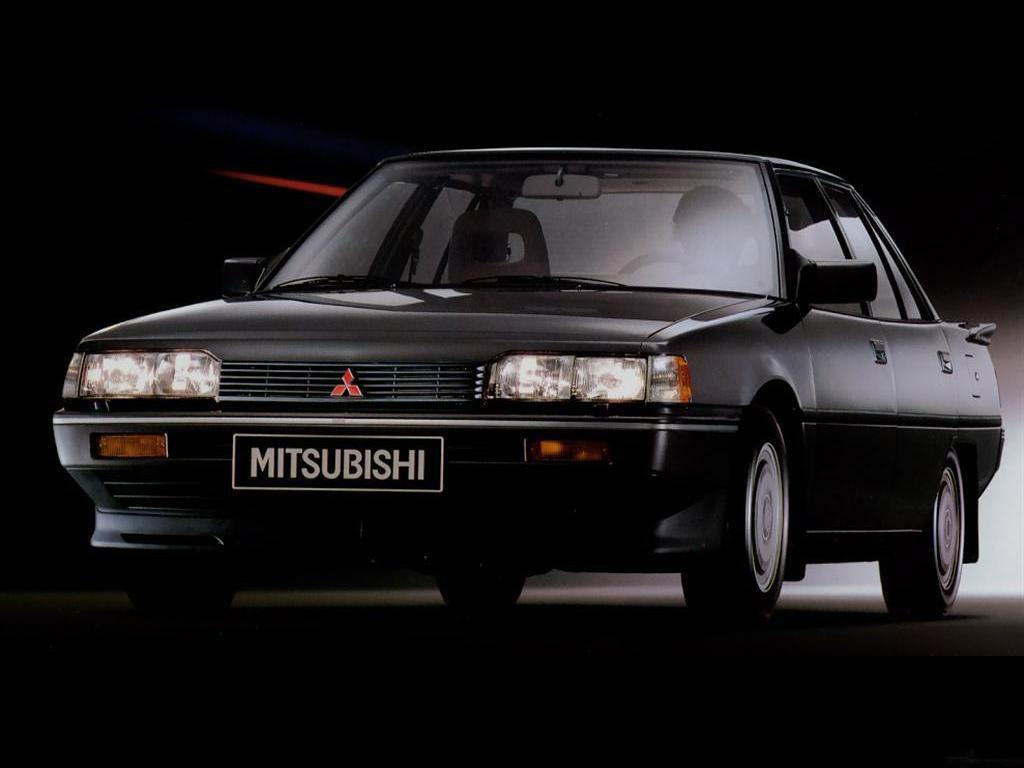 Снимки: Mitsubishi Galant V