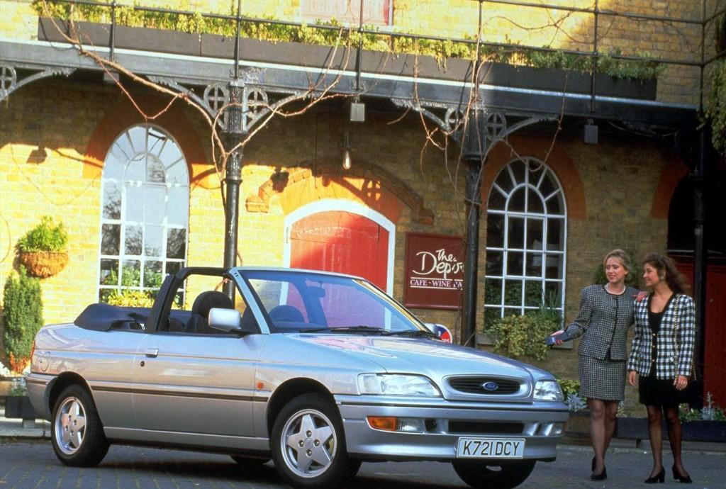 Снимки: Ford Escort VI Cabrio (ALL)