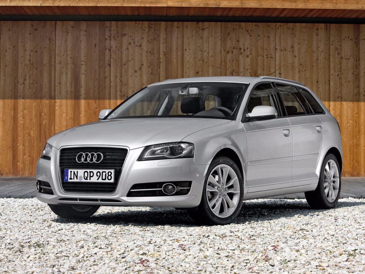 Снимки: Audi A3 (8P) Facelift 2008