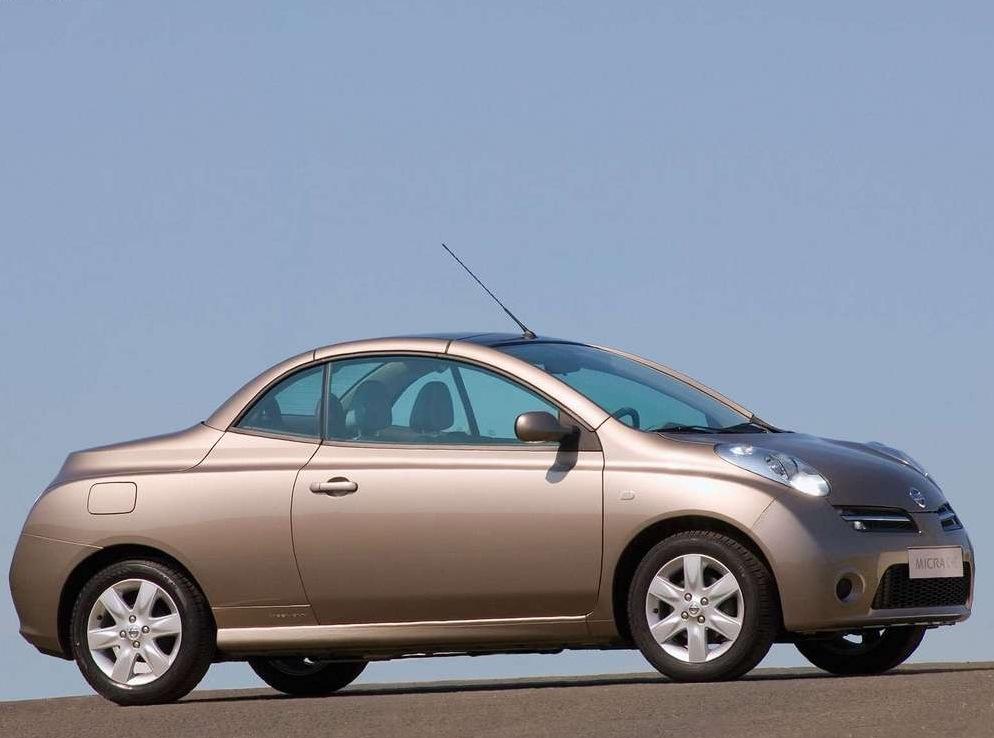 Снимки: Nissan Micra C+C (K12)
