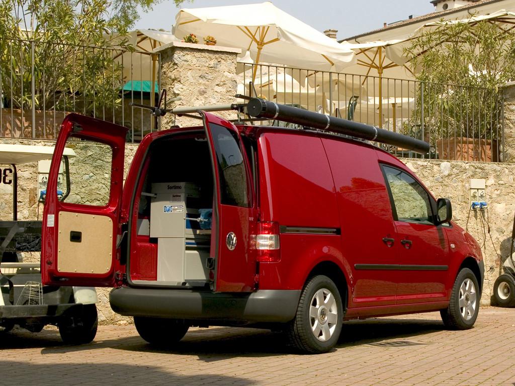 Снимки: Volkswagen Caddy