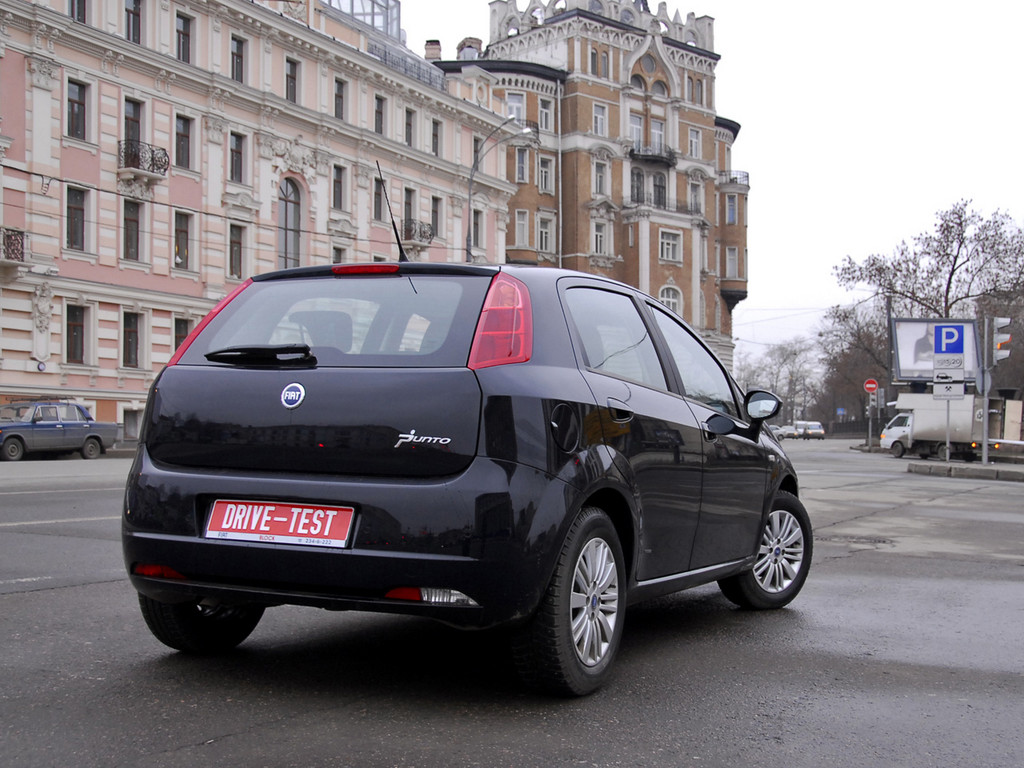 Снимки: Fiat Grande Punto 3D