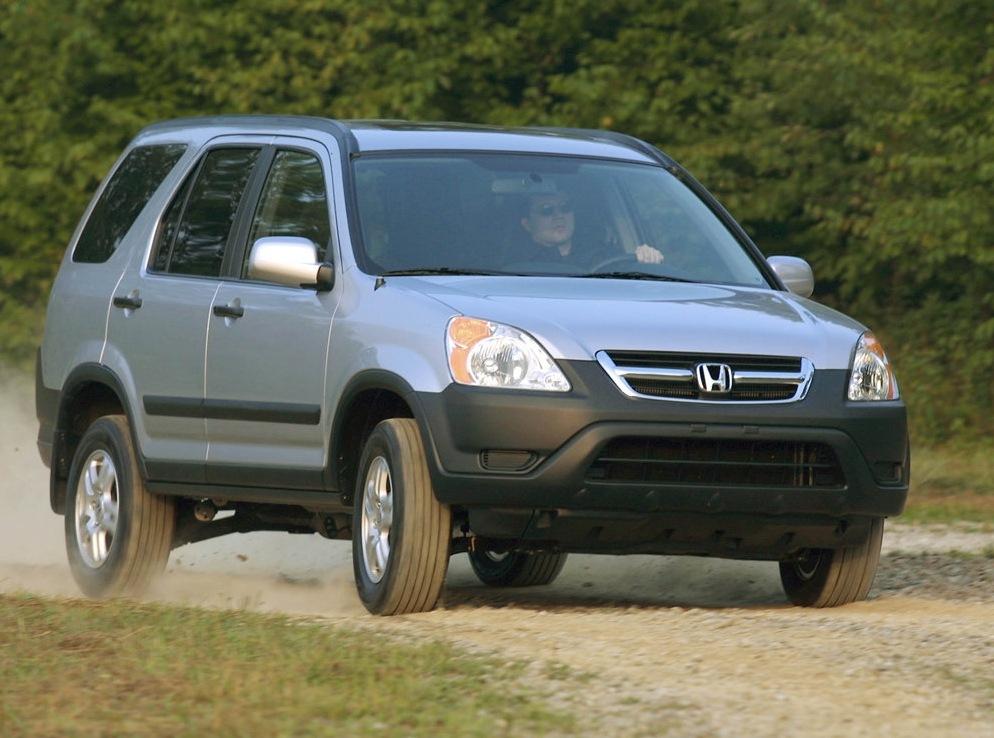 Снимки: Honda CR-V 2002