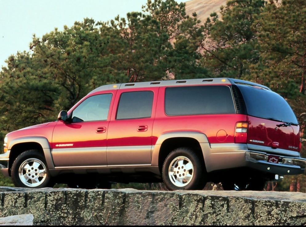 Снимки: Chevrolet Suburban (GMT800)