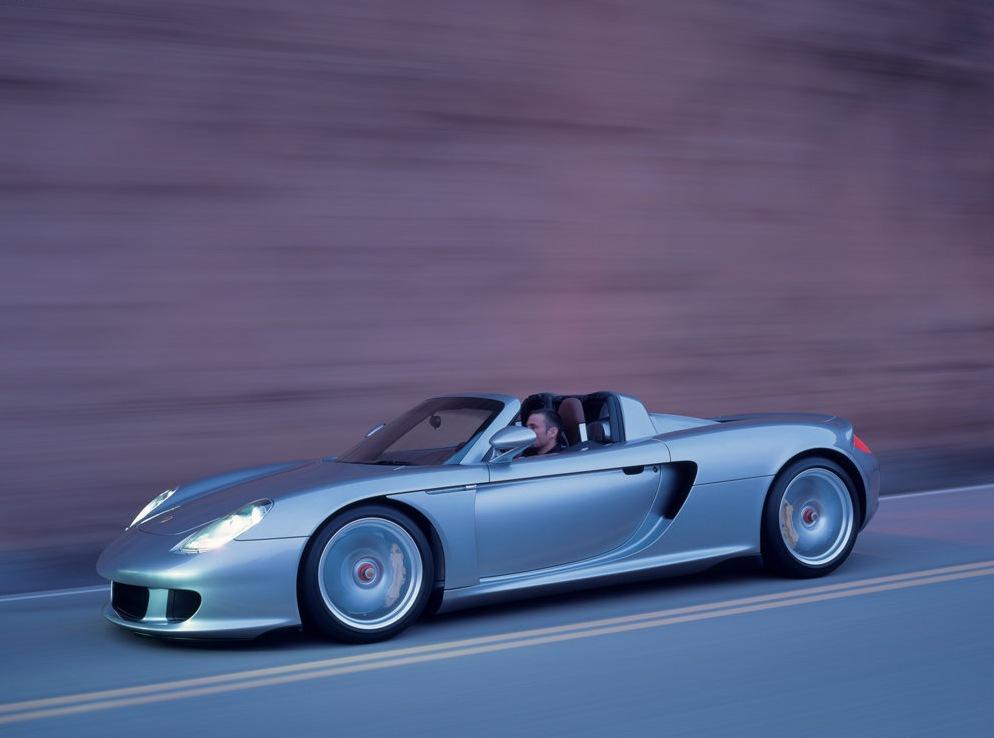 Снимки: Porsche Carrera GT