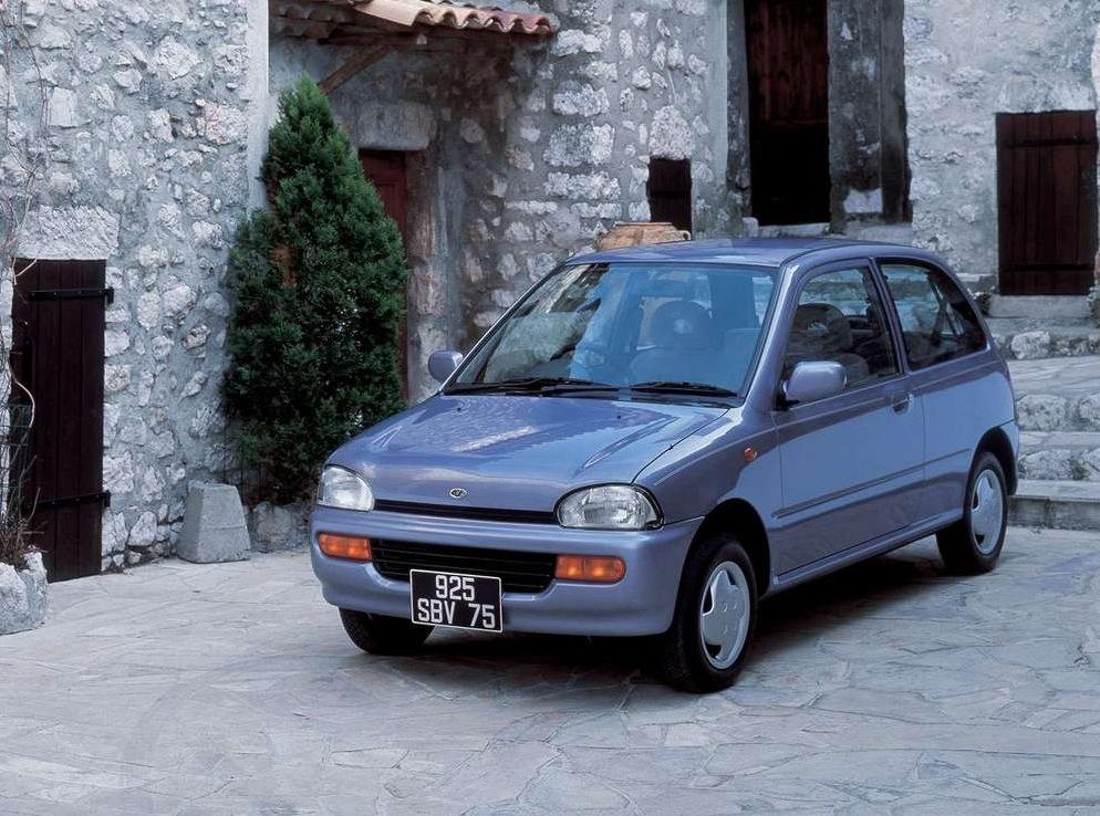 Снимки: Subaru Vivio