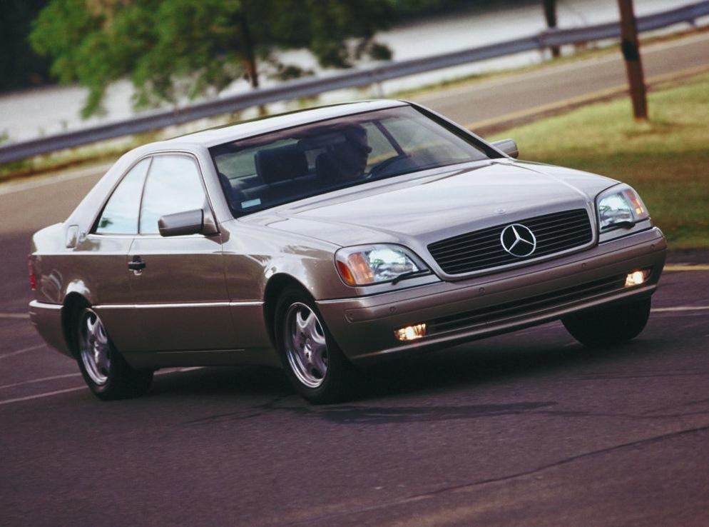 Снимки: Mercedes-benz CL-klasse (W140)