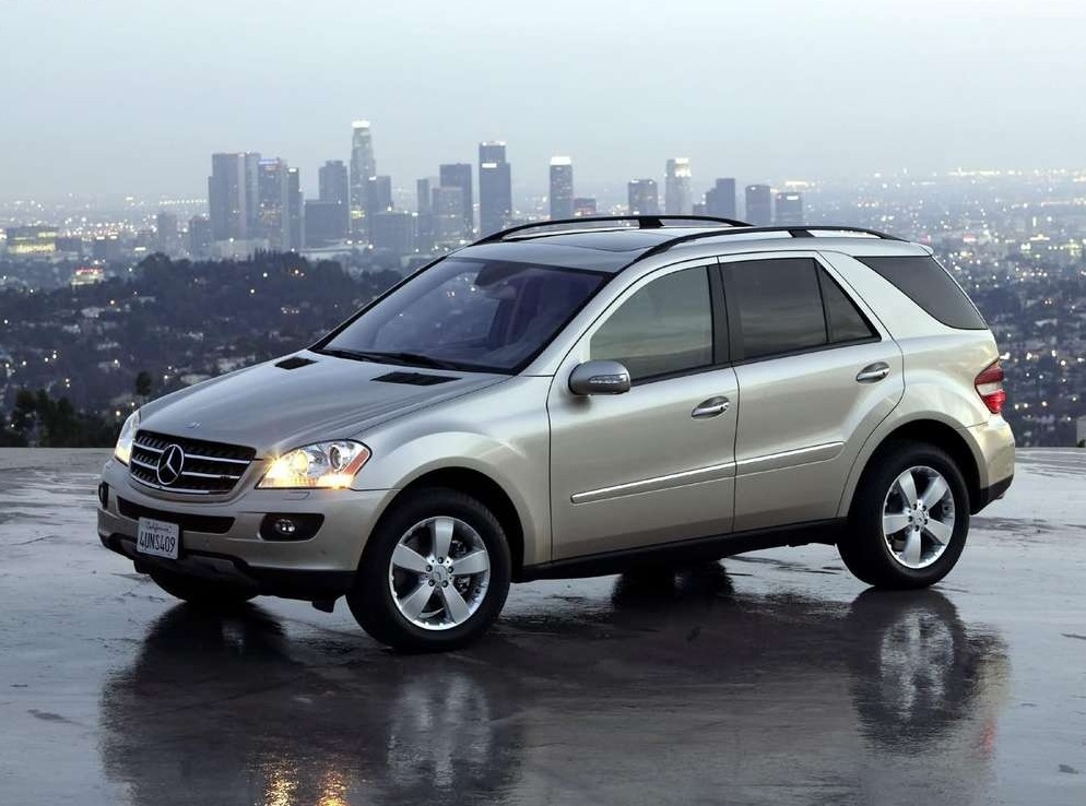 Снимки: Mercedes-benz ML-klasse (W164)