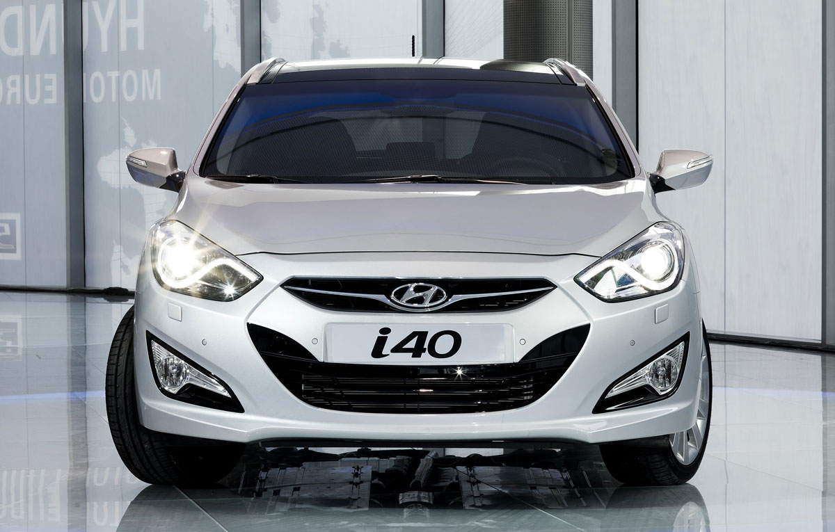 Снимки: Hyundai i40