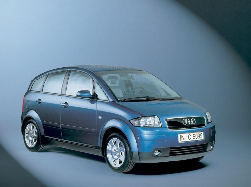 Снимки: Audi A2 (8Z)
