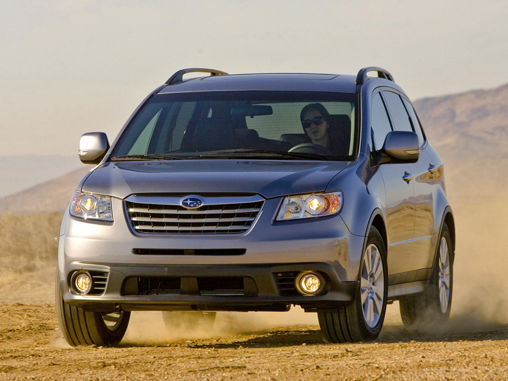 Снимки: Subaru Tribeca