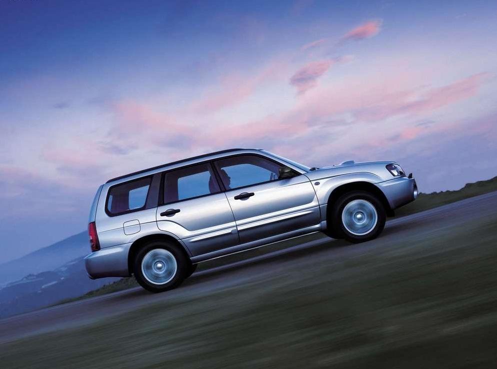 Снимки: Subaru Forester II