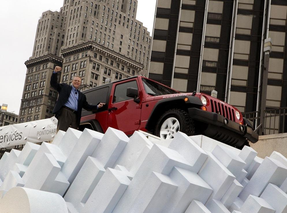 Снимки: Jeep Wrangler III (JK)