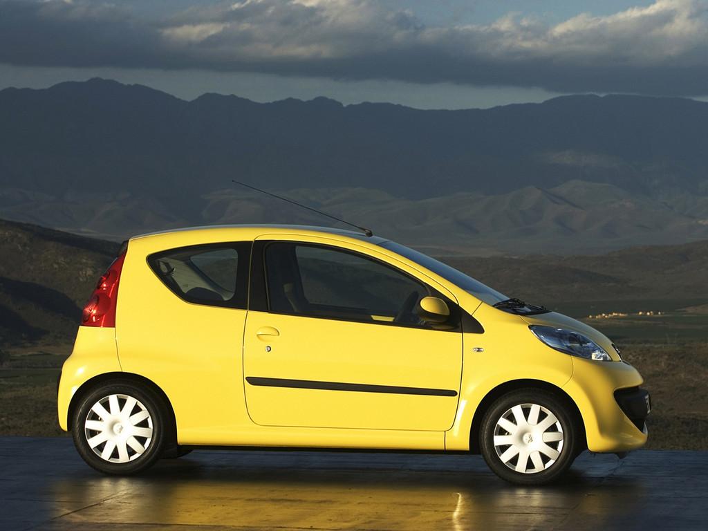 Снимки: Peugeot 107-5-doors
