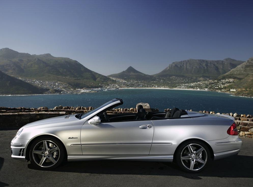 Снимки: Mercedes-benz CLK AMG Cabriolet (W209)