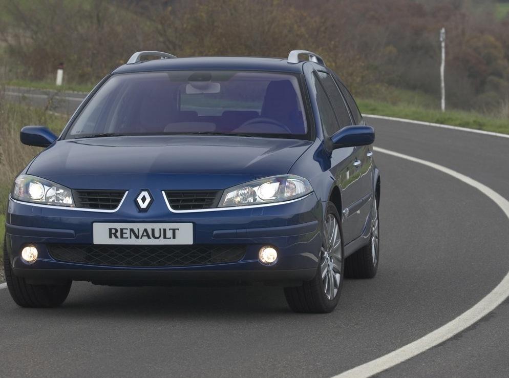 Снимки: Renault Laguna Grandtour 2