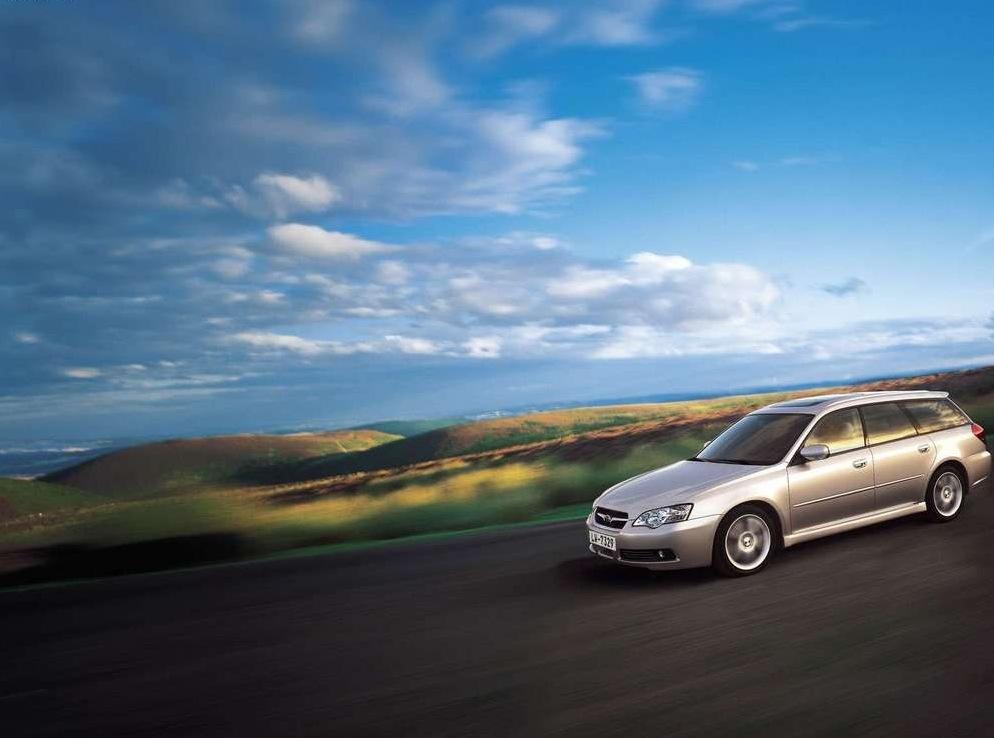 Снимки: Subaru Legacy IV SW