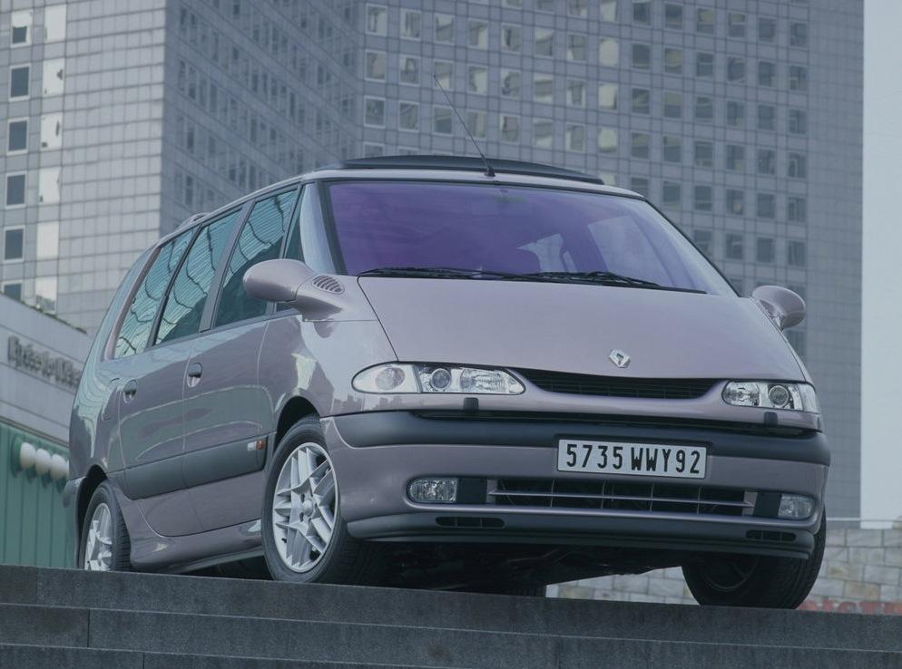 Снимки: Renault Espace III (JE)