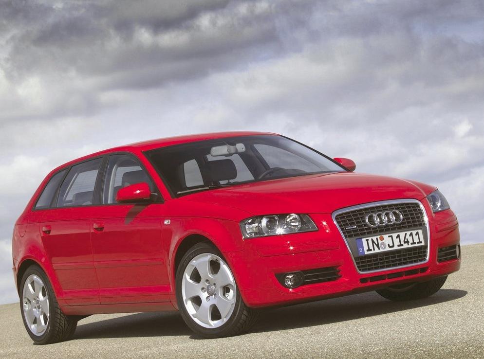 Снимки: Audi A3 Sportback (8P)