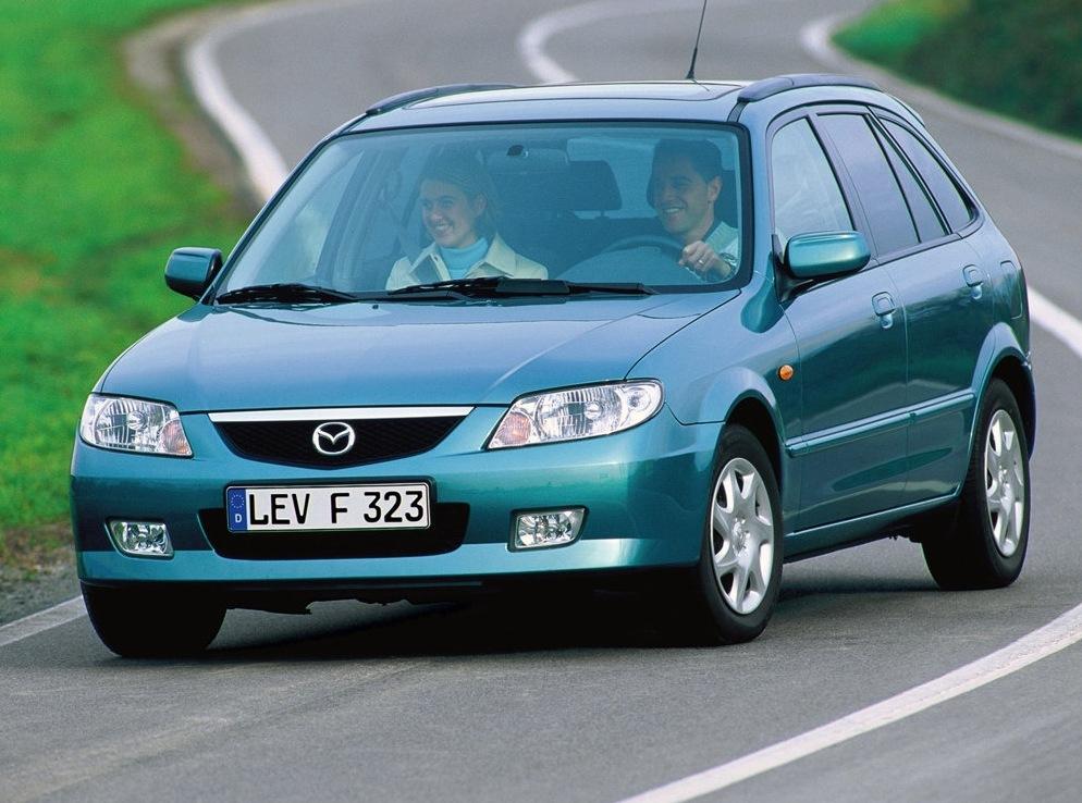 Снимки: Mazda 323 F VI (BJ)