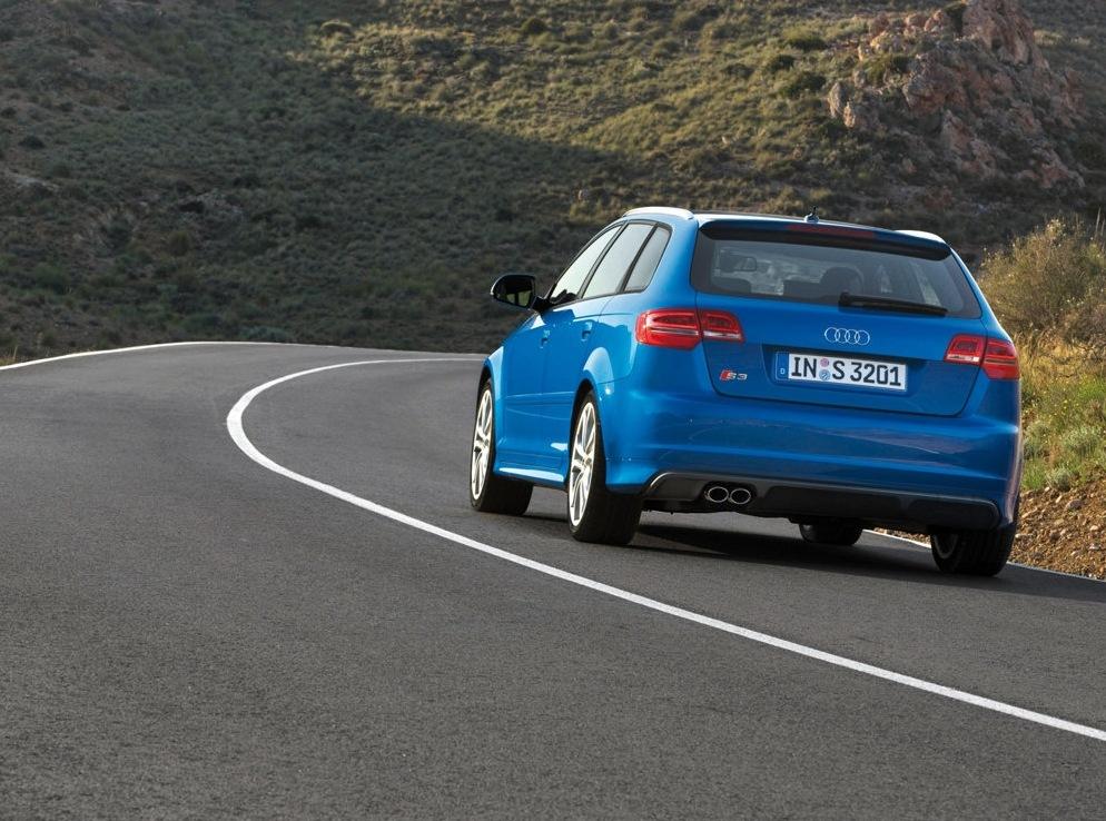 Снимки: Audi S3 Sportback (8P)